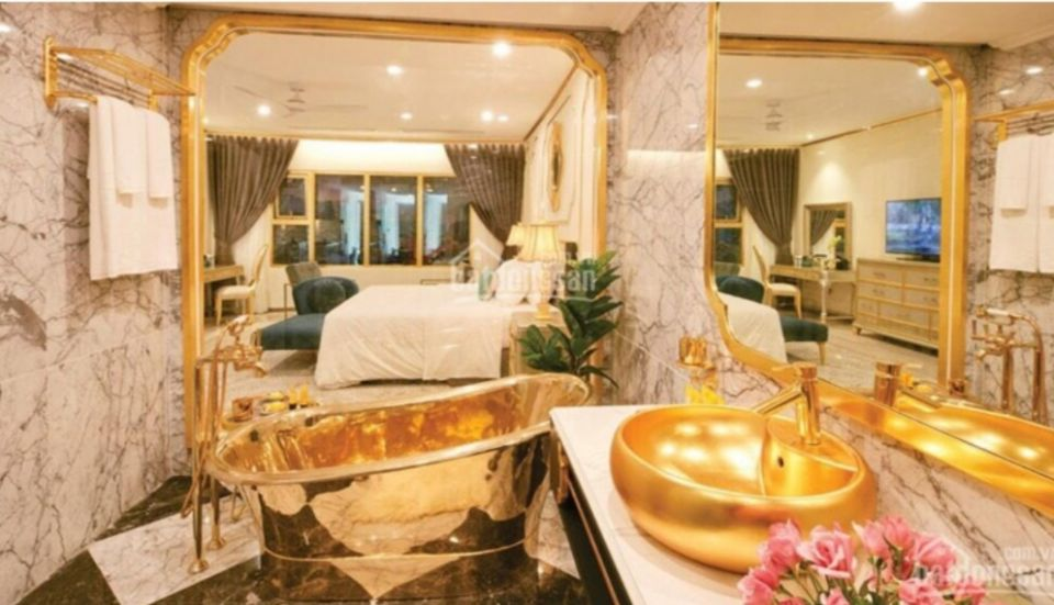 Vietnam: The World's First Gold-Plated Hotel Opened.